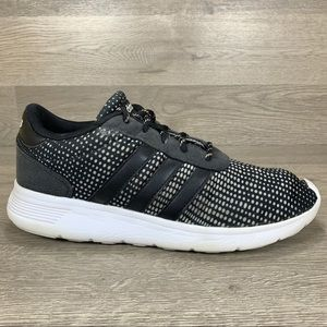 Adidas Lite Racer Black Running Shoes Womans 7